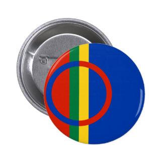 Sami, Finlandia Pin Redondo De 2 Pulgadas