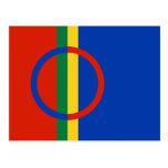 Sami Flag Postcard