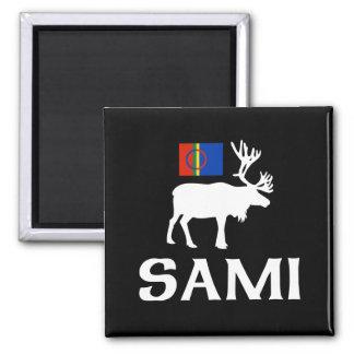 Sami, la gente de ocho estaciones imán para frigorífico