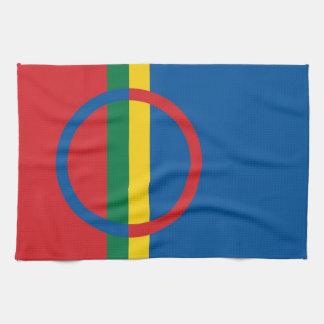 sami people flag towel scandinavia