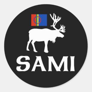 Sami, the People of Eight Seasons Classic Round Sticker