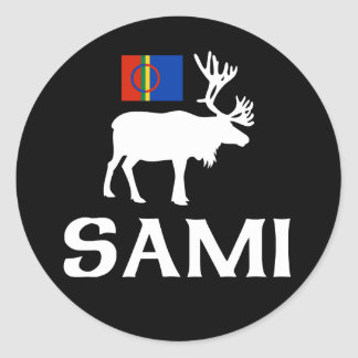 Sami, the People of Eight Seasons Classic Round Sticker