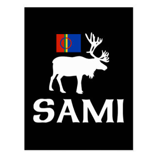 Sami, the People of Eight Seasons Postcard