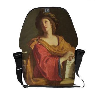 Samian Sibyl, 1644 (oil on canvas) Messenger Bag