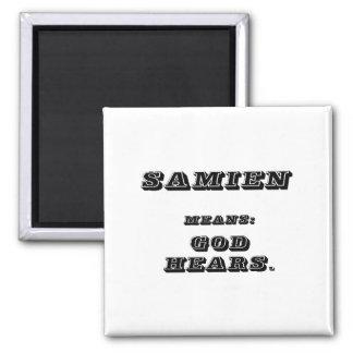 Samien 2 Inch Square Magnet