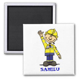 SAMILU 2 INCH SQUARE MAGNET