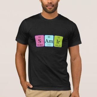 Samir periodic table name shirt