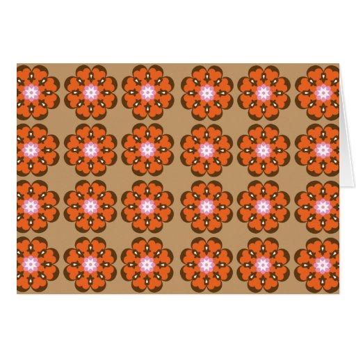 Samira (in orange) greeting card
