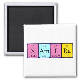 Samira periodic table name magnet