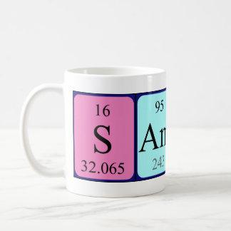 Samira periodic table name mug
