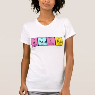 Samira periodic table name shirt