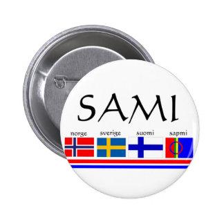 samiwithflags pin redondo de 2 pulgadas