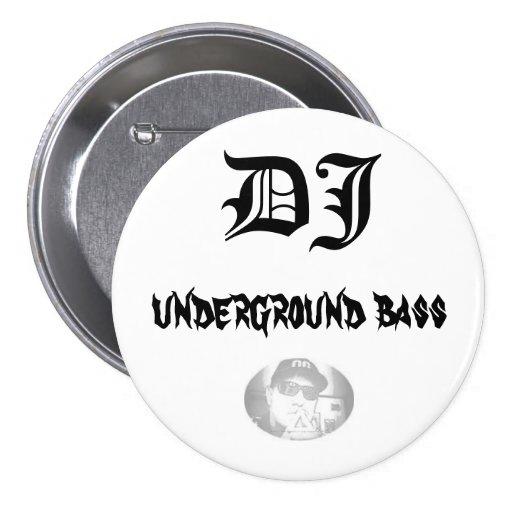 SamixMusic, DJ, bajo subterráneo Pin