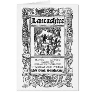 Samlesbury [Lancashire] Witches Card