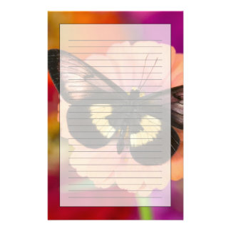 Sammamish Washington Photograph of Butterfly 12 Stationery