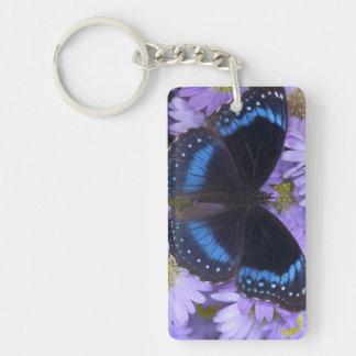 Sammamish Washington Photograph of Butterfly 20 Rectangle Acrylic Keychain