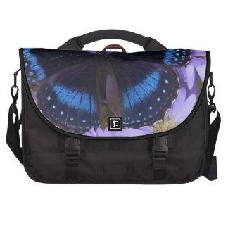 Sammamish Washington Photograph of Butterfly 20 Laptop Messenger Bag
