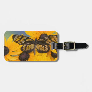 Sammamish Washington Photograph of Butterfly 24 Bag Tag