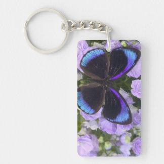 Sammamish Washington Photograph of Butterfly 2 Keychain