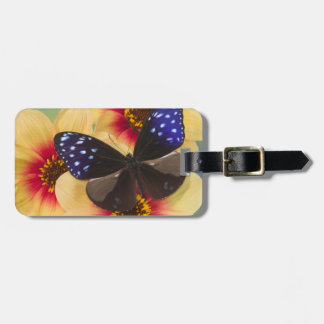 Sammamish Washington Photograph of Butterfly 40 Bag Tag