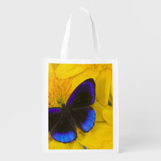 Sammamish Washington Photograph of Butterfly 41 Reusable Grocery Bag