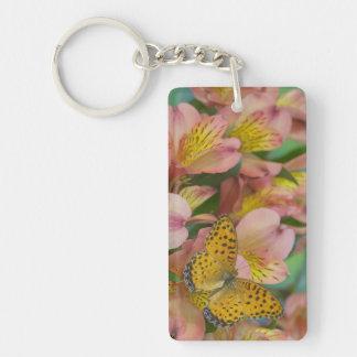 Sammamish Washington Photograph of Butterfly 48 Keychain