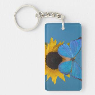 Sammamish Washington Photograph of Butterfly 57 Keychain
