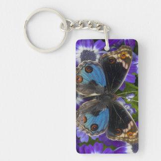 Sammamish Washington Photograph of Butterfly 9 Keychain