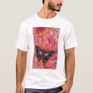 Sammamish Washington Photograph of Butterfly on 5 T-Shirt