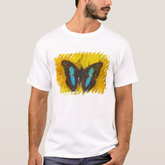 Sammamish Washington Photograph of Butterfly on 7 T-Shirt