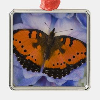 Sammamish Washington Tropical Butterfly 4 Metal Ornament