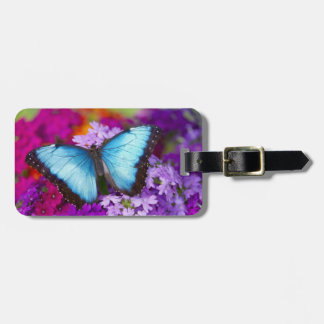 Sammamish Washington Tropical Butterfly 7 Tag For Luggage