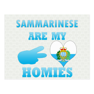 Sammarineses es mi Homies Postales