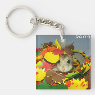 Sammi is Hiding From You! Double-Sided Square Acrylic Keychain