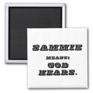 Sammie 2 Inch Square Magnet