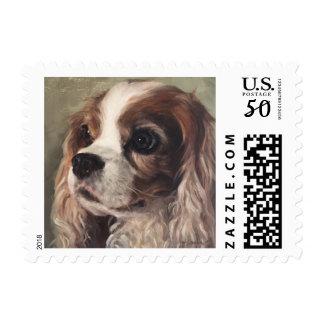 """""""Sammie"""" Cavelier King Charles Postage Stamp"""