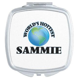 Sammie más caliente del mundo espejos de viaje