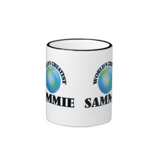 Sammie más grande del mundo taza a dos colores