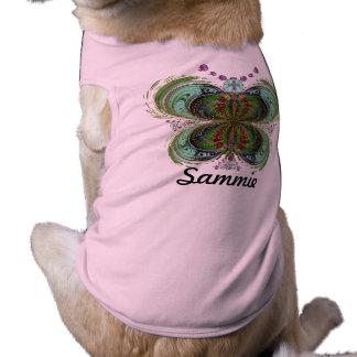 Sammie, Queen Butterfly Doggie Shirt