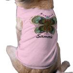 Sammie, Queen Butterfly Pet Shirt
