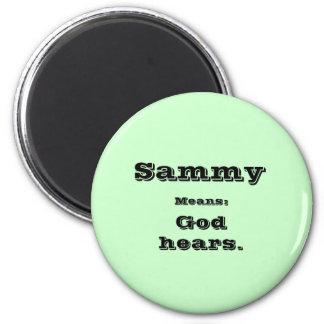 Sammy 2 Inch Round Magnet