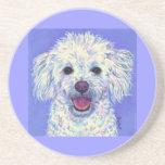 """Sammy"" Bichon Poodle - Coaster"