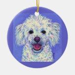 """Sammy"" Bichon Poodle - Ornament"