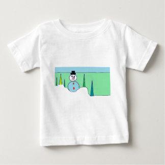 Sammy el muñeco de nieve camiseta