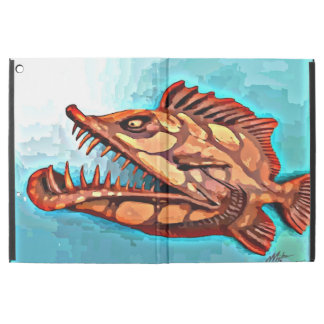 """""""Sammy"""" Fish With Attitude by Mike Quinn iPad Pro Case"""