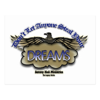 Sammy Hall Ministries Legacy Series Dreams Card Postcards