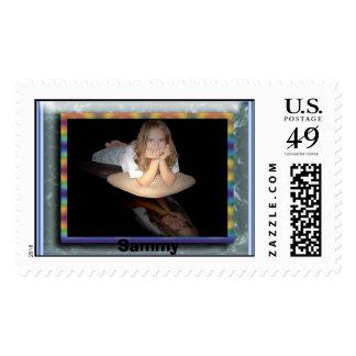 sammy reflect (Large), Sammy Postage Stamp