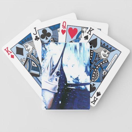 Sammy Sailfish playing cards
