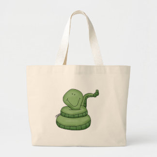 Sammy_snake Large Tote Bag