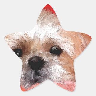 Sammy the beautiful flower star sticker